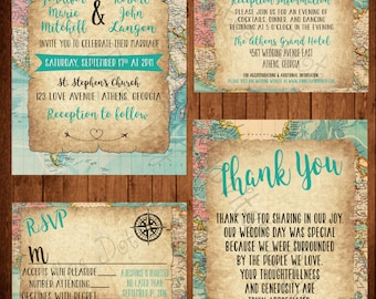 Travel Themed Wedding Package