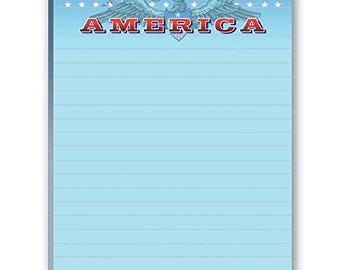 Patriotic Notepads - 2 American Notepads - 35118