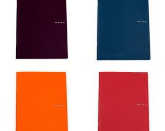 Fabriano EcoQua A4 Staplebound Lined notebook