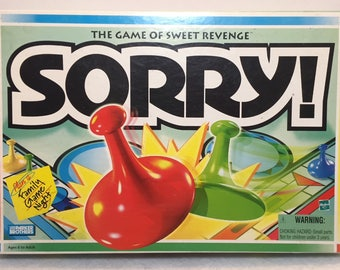 Sorry Game - Hasbro - Parker Bros - 1998