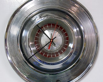 1964 Plymouth Hubcap Clock - Fury Belvedere