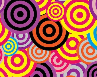 Circle Flash Gift Wrapping Paper