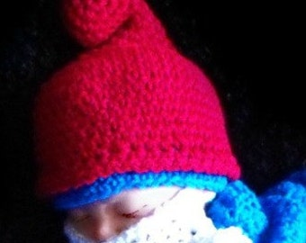 Beared Gnome Hats for Infants to Adults Crochet Patterns pdf 624