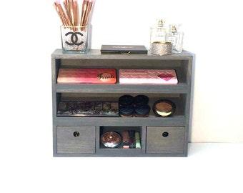 Makeup Organizer   Makeup Display   Makeup Vanity   Wall Mounted Makeup  Shelf   Makeup Cabinet