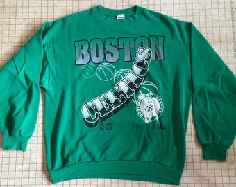 90's Boston Celtics crew sweatshirt