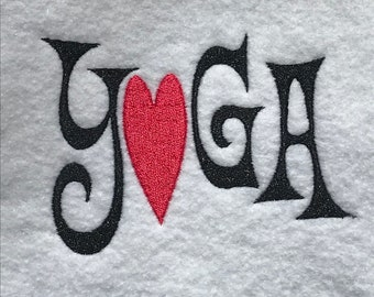 Yoga Love DOWNLOAD DIGITAL Design 4x4