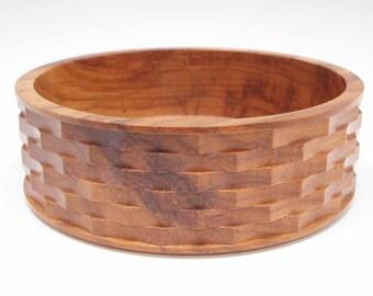 Basket Weave Pecan Bowl