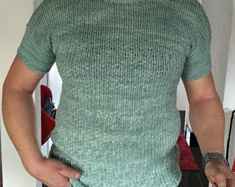Tank top men second skin, 100% Merino, size and choice of colors
