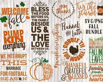 fall svg bundle, fall clipart, pumpkin spice svg, latte svg, coffee mug svg, sign svg, thanksgiving svg, fall svg files, fall printable