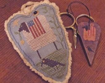 Ewe Be Patriotic~Cross Stitch Pattern