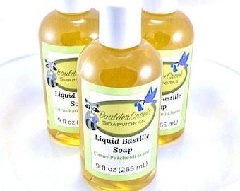 Citrus Patchouli Liquid Bastille Soap #267