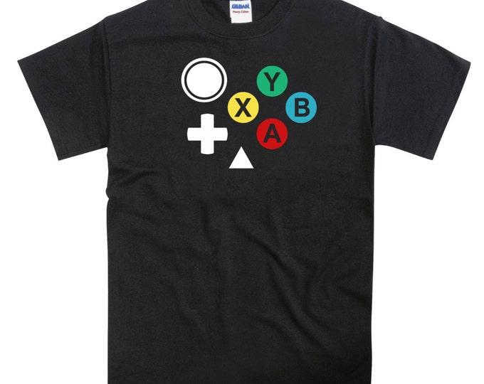 Dreamcast Controller Joypad Buttons Unisex Tshirt