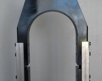Patented 5 pc motorcycle swingarm.