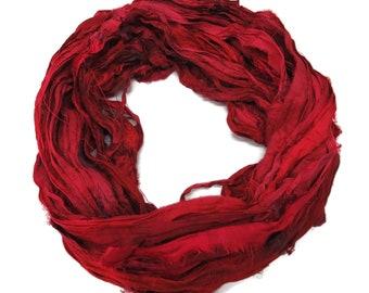 New! Sari Silk Ribbon, 100g