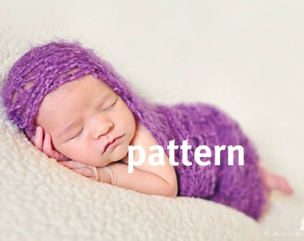 Lacy Wrap KNITTING  PATTERN, Baby Photo Prop, Basket Liner, Sell What You Make, Digital Download