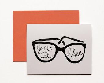 Valentine's Day Card, Funny Valentine Card, Card for Boyfriend, Card for Girlfriend