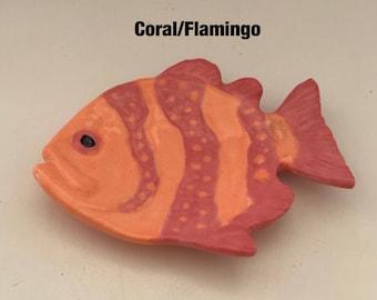Ceramic Fish Teabag / Spoonrest