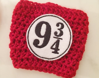 Nine and Three Quarters Coffee Cozy