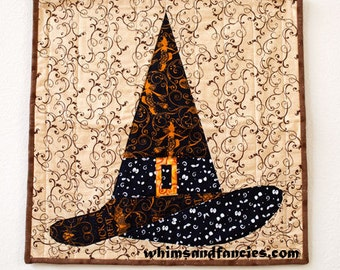 Halloween Witch Hat - Paper Piecing