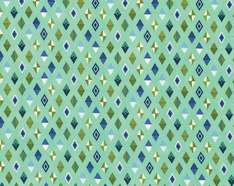 Tula Pink - Slow and Steady - Track Flags - PWTP090-BLUER