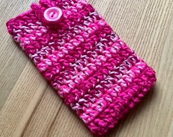 iPhone 6 Cosy, iPhone 7 Case, iPhone 8 Cozy, Phone Sock, Gadget Cozy, Cell Phone Case, Handbag Tidy, Stocking Filler, iPod Case, Phone Cover