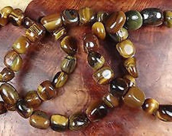 Tigers Eye Bracelet infused w/ Reiki, Healing Tiger Eye Jewelry