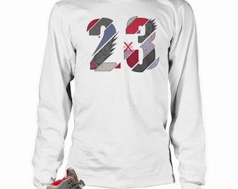 Camo 5s Long Sleeve T-shirt , TSC