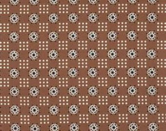 SALE Katie Jump Rope by Denyse Schmidt /Atomic Dot in Nugget quilting cotton Fabric Canada/ half yard