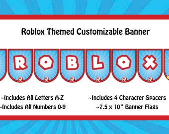 Roblox Themed Custom Banner
