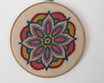 Bright colours Mandala