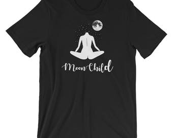 Moon Child Short-Sleeve Unisex T-Shirt