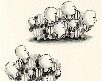 Original drawing - Seeds 3