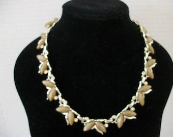 Kramer gold tone necklace