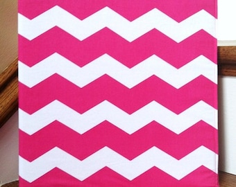 Chevron Fabric 3-Ring Binder Cover