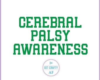 Cerebral Palsy Awareness Decal Sticker
