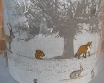 Lampshade - Woodland Animals Lamp Shade