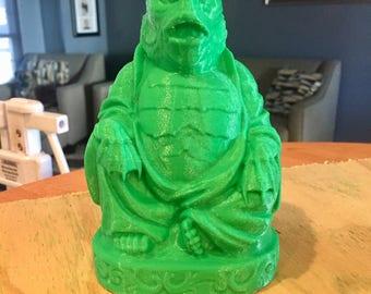 Creature from the Black Lagoon  Buddha (Leaf Green)