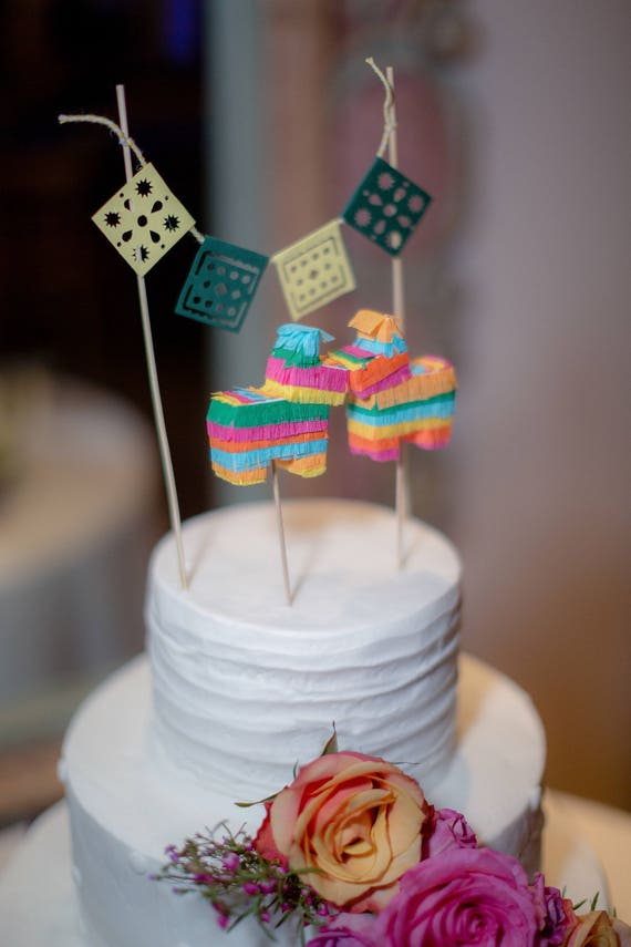 mexican themed wedding cake toppers pinata cake toppers mexican decorations 17284