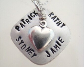 Heart of the Matter for Family of Four Custom made for you