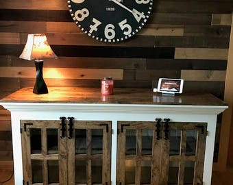 Farmhouse Style TV Stand (Free Shipping)