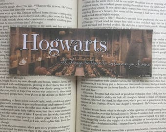 Hogwarts Quote | Harry Potter Inspired Bookmark