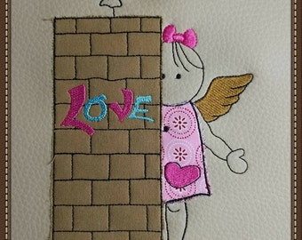 Embroidery file * MissLee & Love3 * 10 pieces (10x10 to 20x30)