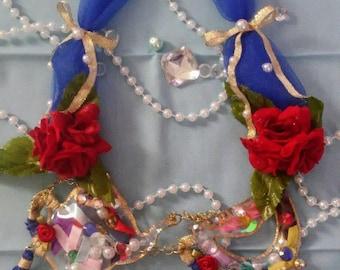 Sailor scout tea party necklace