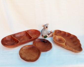 Monkey Pod wooden bowls set of 3