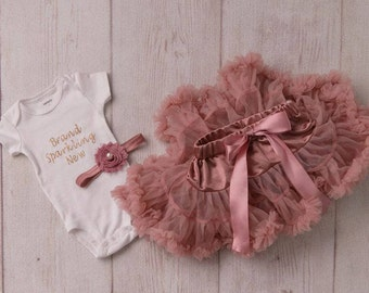 Newborn Outfit Girl, Going Home Outfit Girl, First Outfit Girl, Baby Outfit Girl, Tutu and Headband, Pink Outfit Girl, Pink Tutu Outfit