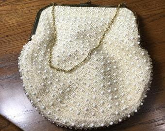 Vintage corde' bead purse by Lumured