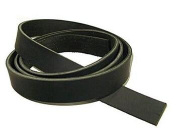 """Genuine Latigo Leather Strip 72""""  Long - 9/11 oz Weight"""