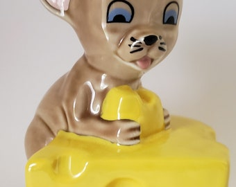 Wade Madison Mouse 1997 Wisconsin Fair Swiss Cheese Collectors Club Figurine