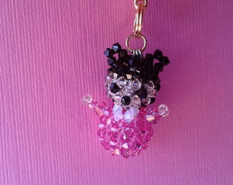 Baby Minnie - Swarovski Crystal Phone Charm