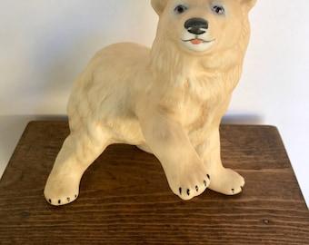 Vintage Cybis Porcelain Polar Bear